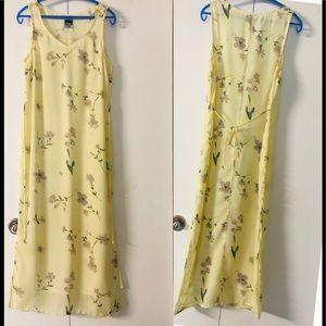 Knapp Studio California Maxi Dress Sz M🦋Sheath 🎈